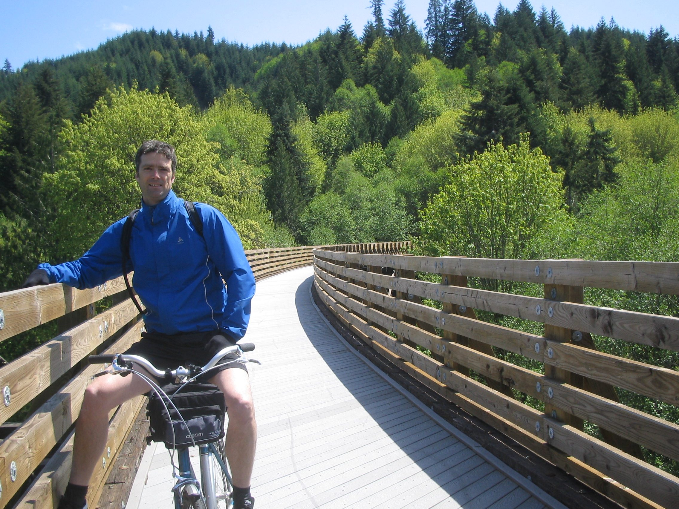 Rails To Trails Banks Vernonia State Trail Pedal Bike Tours