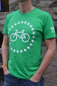 Pedal's new limited edition Portland Pot Tour t-shirt. Get 'em while you can!